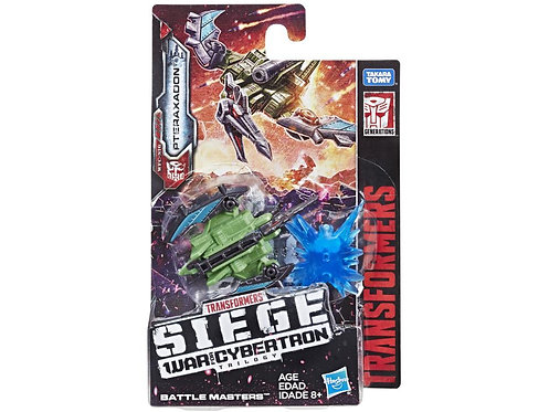 Transformers War for Cybertron: Siege Battle Masters Pteraxadon