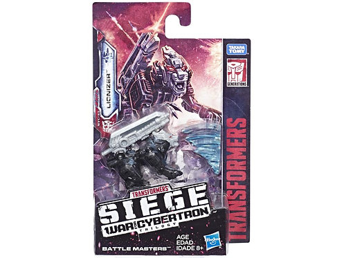 Transformers War for Cybertron: Siege Battle Masters Lionizer