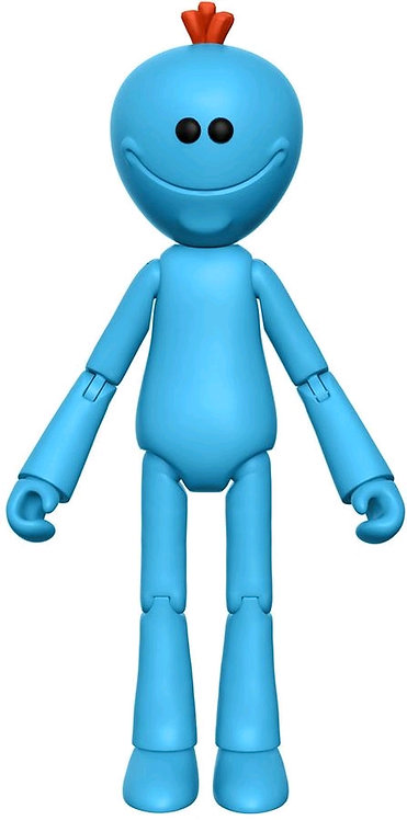 """Rick and Morty - Mr Meeseeks 5"""" Articulated Action Figure"""