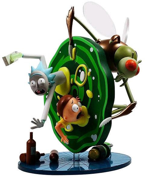 Rick and Morty Statue Kidrobot