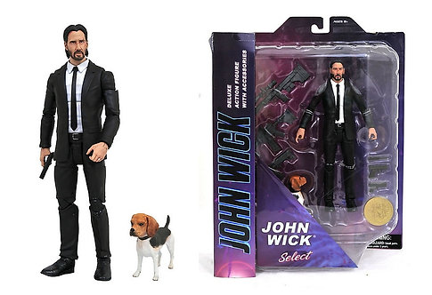 "John Wick - John Wick with Dog 7"" Action Figure"