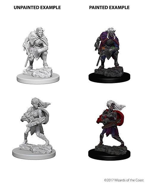 D&D Nolzurs Marvelous Unpainted Miniatures Drow