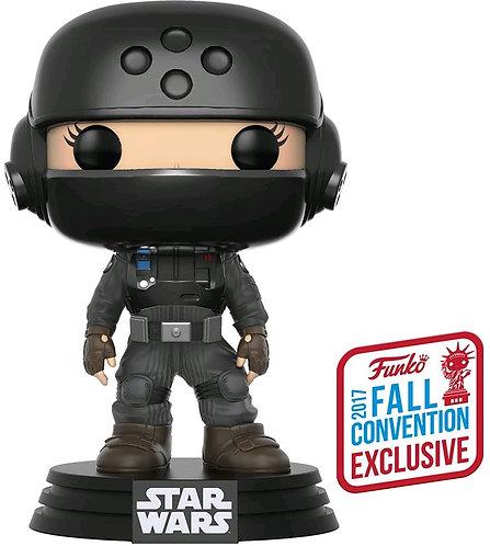 Star Wars: Rogue One - Jyn with Helmet NYCC 2017 US Exclusive Pop! Vinyl