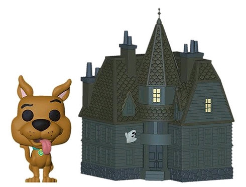 Scooby Doo - Scooby & Haunted Mansion Pop! Town