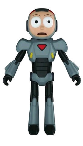 Rick and Morty - Morty Purge Suit Action Figure