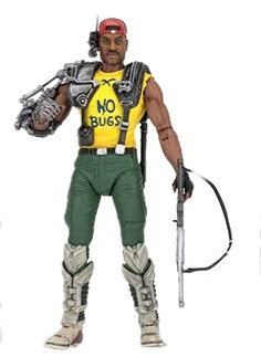 "Aliens - 7"" series 13 Action Figure -Space Marine Sgt. Apone"