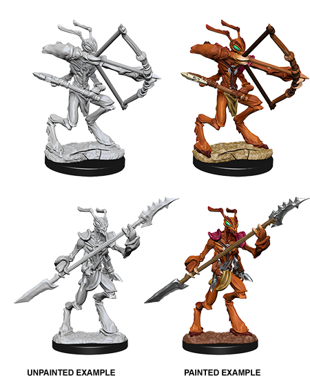 D&D Nolzurs Marvelous Unpainted Miniatures ThriKreen