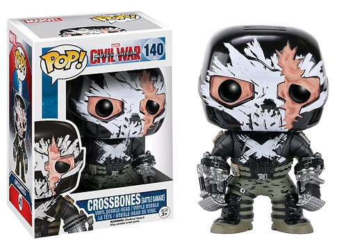 Captain America 3: Civil War - Crossbones Cracked Mask US Exclusive Pop! Vinyl