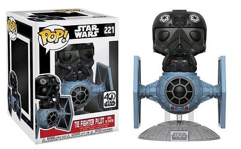 Star Wars - TIE Fighter Pilot with TIE Fighter Pop! Deluxe