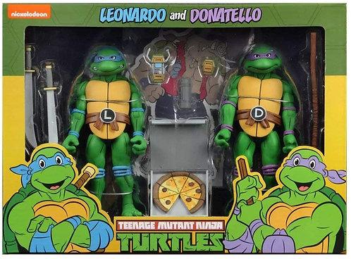Teenage Mutant Ninja Turtles - Leonardo & Donatello Action Figure 2-pack