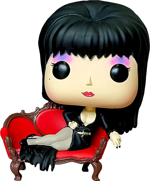 Elvira - Elvira on Couch US Exclusive Pop! Deluxe