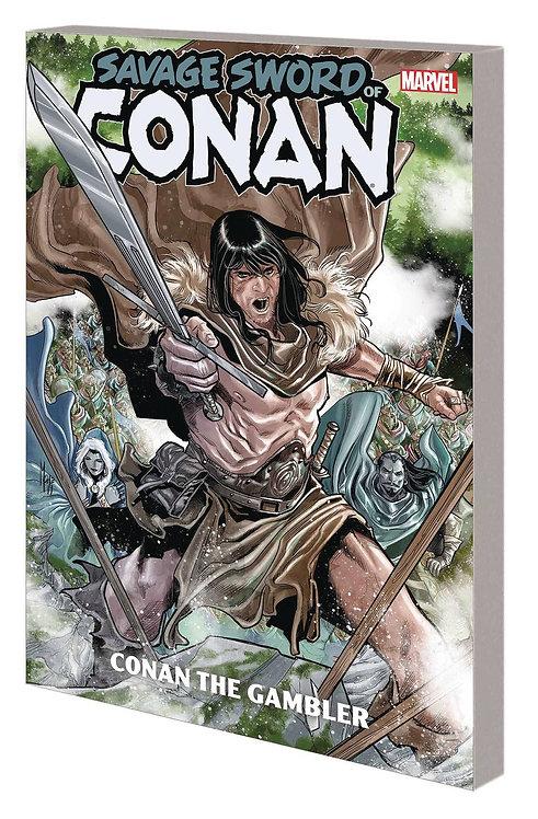 SAVAGE SWORD OF CONAN TP 02 CONAN GAMBLER