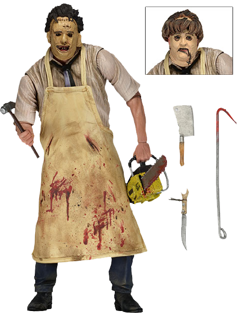 """The Texas Chainsaw Massacre - 7"""" Ultimate Leatherface Action Figure"""