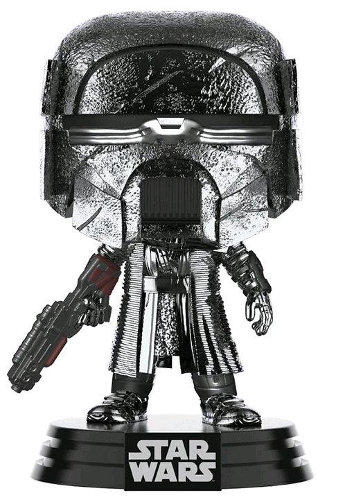 Star Wars - Knight of Ren Blaster Episode IX Rise of Skywalker Hematite Chrome P