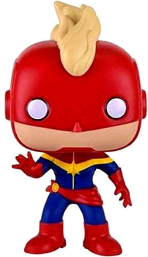 Captain Marvel - Captain Marvel Masked US Exclusive Pop! Vinyl