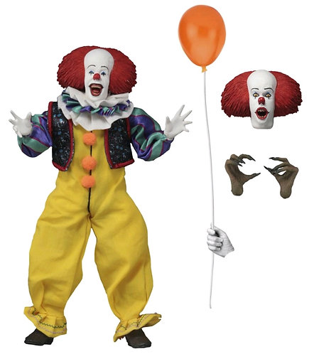 """It - Pennywise 8"""" Clothed Figure"""
