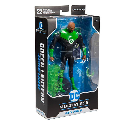 """Justice League Animated - Green Lantern 7"""" Action Figure"""