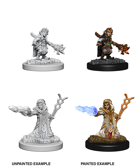 D&D Nolzurs Marvelous Unpainted Miniatures Female Gnome Wizard
