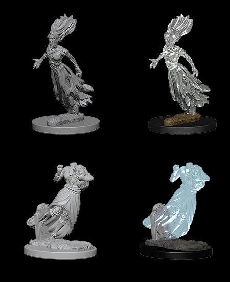 D&D Nolzurs Marvelous Unpainted Miniatures Ghost & Banshee