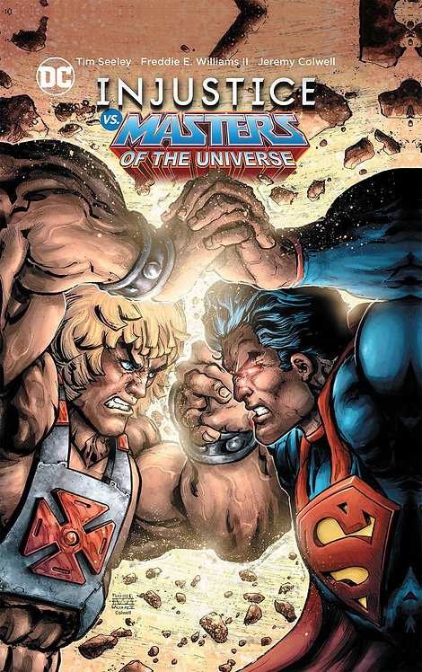 INJUSTICE VS MASTERS OF THE UNIVERSE HC