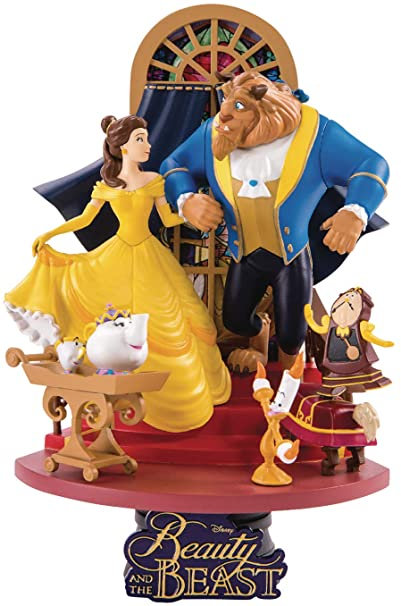 Beast Kingdom Beauty & The Beast D-Stage Series Statue