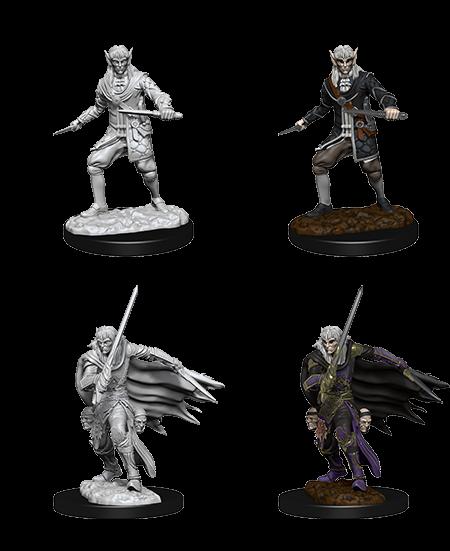 Pathfinder Deep Cuts Unpainted Miniatures Male Elf Rogue