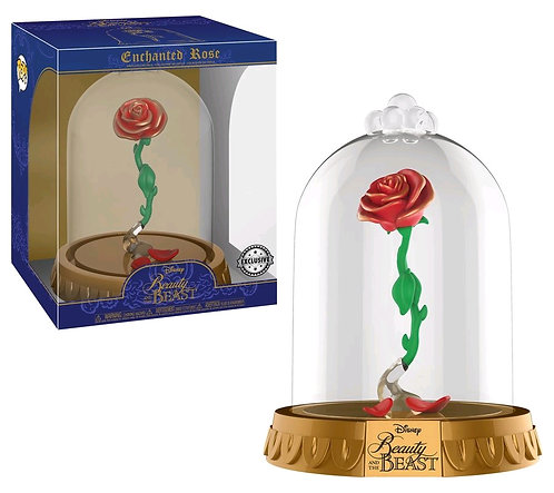 Beauty and the Beast - Enchanted Rose US Exclusive Pop! Dome