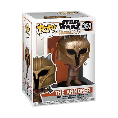 Star Wars: The Mandalorian - The Armorer Metallic Pop! Vinyl