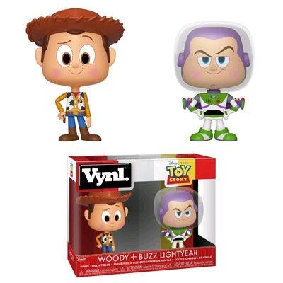 Toy Story - Woody & Buzz Vynl.