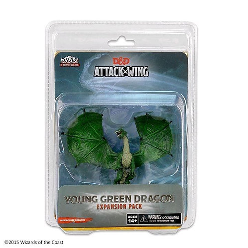 DUNGEONS & DRAGONS - ATTACK WING WAVE 10 GREEN DRAGON EXPANSION PACK