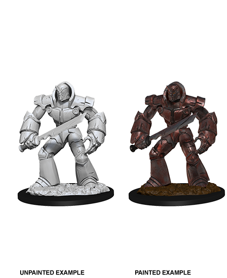 D&D Nolzurs Marvelous Unpainted Miniatures Iron Golem