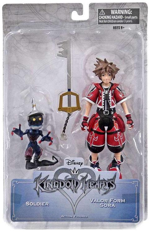 Kingdom Hearts - Valor Form Sora & Soldier Figure