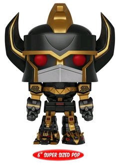 "Power Rangers - Megazord Black and Gold 6"" US Exclusive Pop! Vinyl"