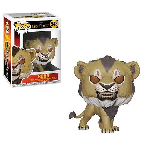 Lion King (2019) - Scar Pop! Vinyl
