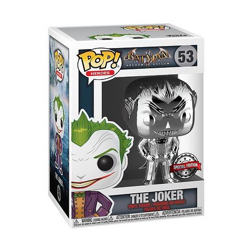 Batman: Arkham Asylum - The Joker Silver Chrome US Exclusive Pop! Vinyl