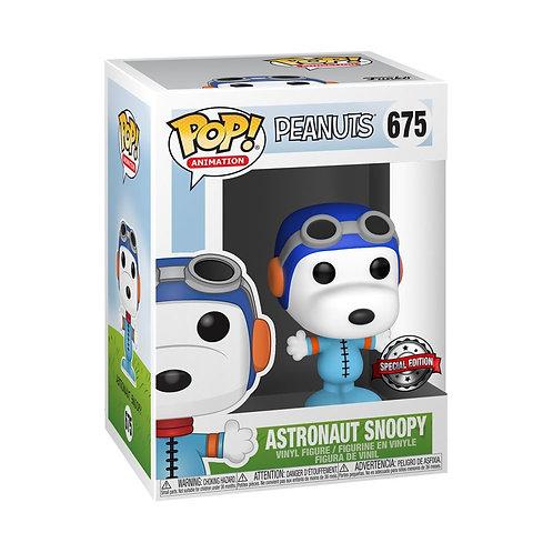 Peanuts - Snoopy as Astronaut (No Helmet) US Exclusive Pop! Vinyl
