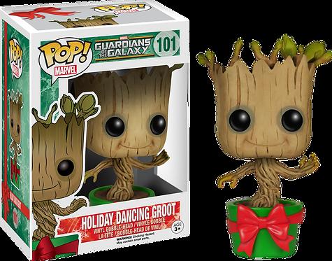 Guardians of the Galaxy - Holiday Dancing Groot Pop! Vinyl
