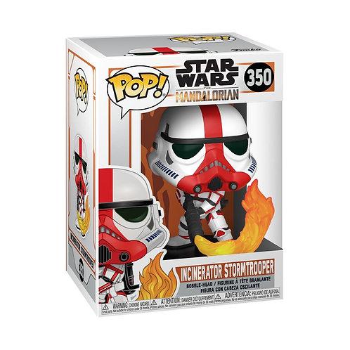 Star Wars: The Mandalorian - Incinerator Stormtrooper Pop! Vinyl