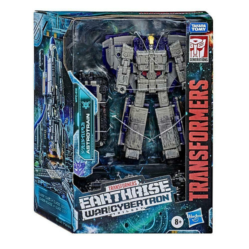 Transformers Earthrise War for Cybertron Leader Class - Astrotrain