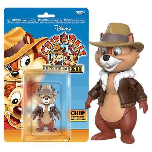 "Disney - Chip 'n' Dale: Rescue Rangers - Chip 3.75"" Action Figure"