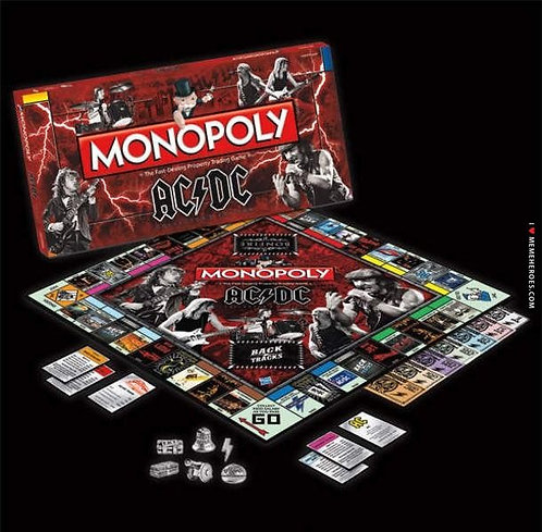 Monopoly: AC/DC Collector's Edition Board Game