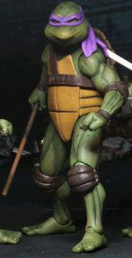 """Teenage Mutant Ninja Turtles (1990) - Donatello 7"""" Action Figure"""