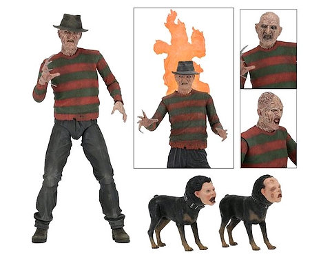 "A Nightmare on Elm Street 2: Freddy's Revenge - Freddy 7"" Ultimate Action Figure"