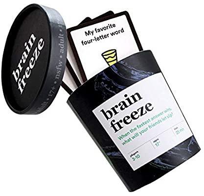 Brain Freeze Adult Card Game