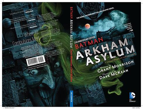 BATMAN ARKHAM ASYLUM 25TH ANNIV DLX ED TP