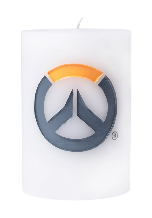Overwatch Insignia Carved Candle