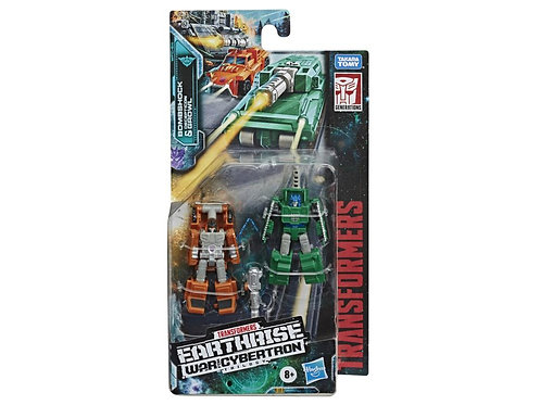 Transformers War for Cybertron: Earthrise Micromaster Bombshock & Growl