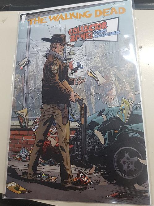Walking Dead #1 Collector Zone Exclusive Edition LE 500