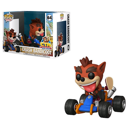 Crash Bandicoot - Crash Go-Kart Pop! Ride