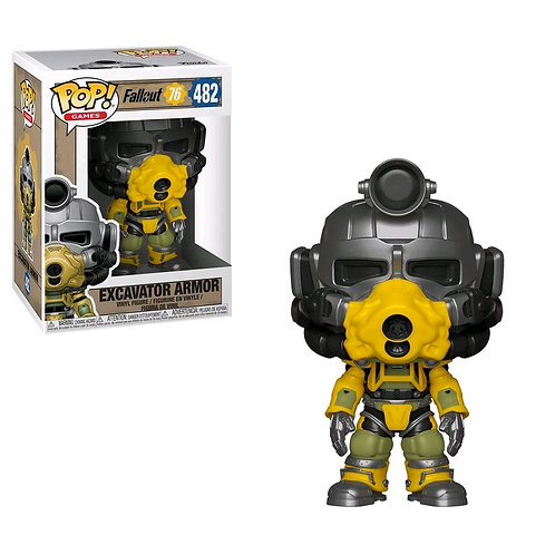 Fallout 76 - Excavator Armor Pop! Vinyl